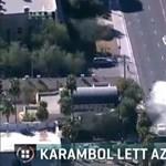 Brutális karambollal végződött egy autós üldözés Amerikában - videó