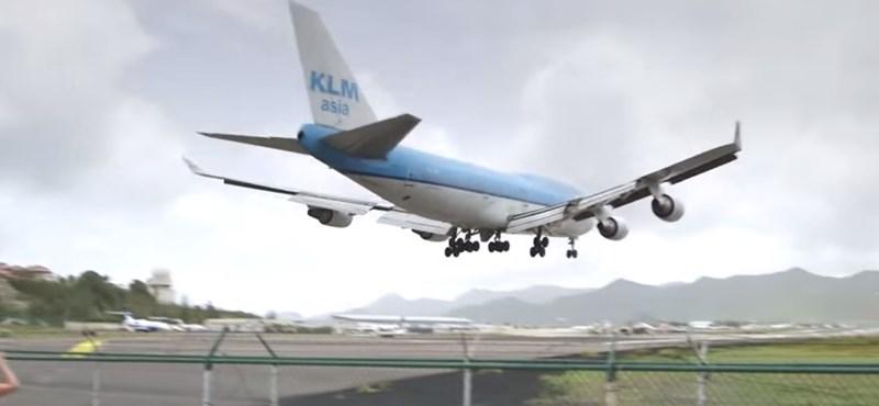 Videó: Így néz ki egy hihetetlen landolás a pilótafülkéből