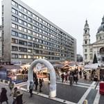 Toplistás lett Európában a karácsonyi vásár a Bazilikánál