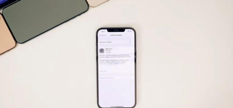 Hiba vagy funkció? A frissítés után gyorsabb lett a 2,5 éve kiadott iPhone, mint a legújabb