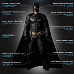 Mennyibe kerülne Batmannek lenni?