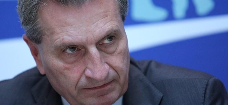 Günther Oettinger: Magyarország halálos veszélyt jelent az EU-ra