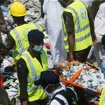 Pánik tört ki Mekkában – legalább 717 halott