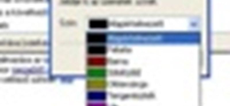 Outlook Express: színes levelek – egyszerű és gyors eligazodás