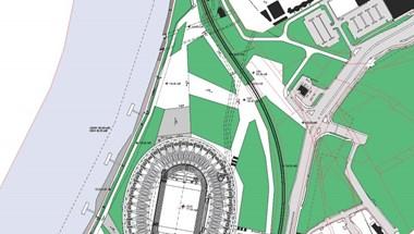 Hatásvizsgálat nélkül épül gát a Dunán az atlétikai stadion miatt