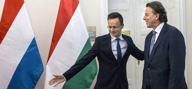 Szijjártó: Magyarország megszakította a nagyköveti szintű kapcsolatot Hollandiával