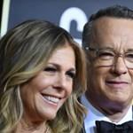 Koronavírussal fertőzött Tom Hanks és a felesége