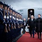 Orbánt tüntetők várták Berlinben