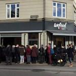 A lejárt élelmiszeren is túladnak egy koppenhágai üzletben