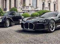 Eddig nem látott Bugattit vett elő titkos gyűjteményéből a gyártó