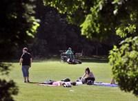 Jó hír: egy parkban üldögéléssel is segíthet az egészségén