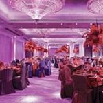 Fény orgia és merész vonalak egy ázsiai hotelben