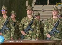 Törölte a videót a szolnoki tévé, amelyiken Orbán Gáspár katonai eskütétele volt látható