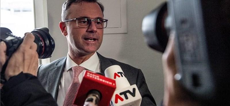 A szabadságpárti jelölt áll nyerésre az osztrák államfőválasztáson