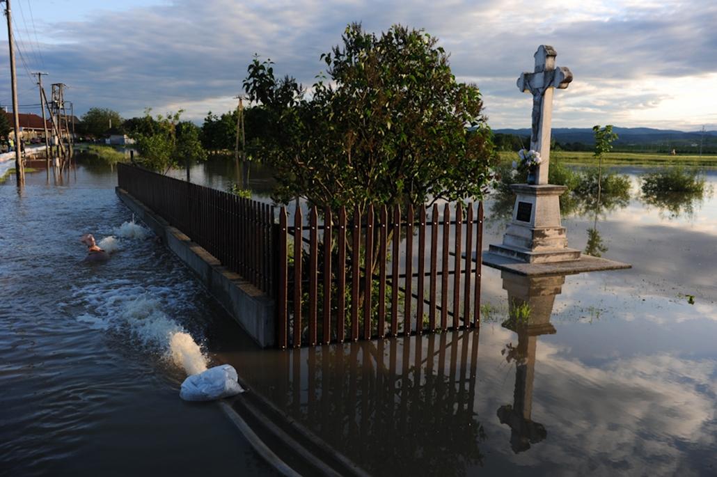 árvíz áradás sajóecseg