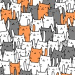 Rejtvény délutáni szieszta helyett: megtalálja a nyulat a macskák közt?