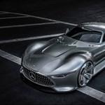 Valósággá válik a Mercedes virtuális szuperkupéja