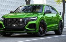 Tízzel lépi át az 1000 lóerős határt ez az új Audi RS Q8 divatterepjáró