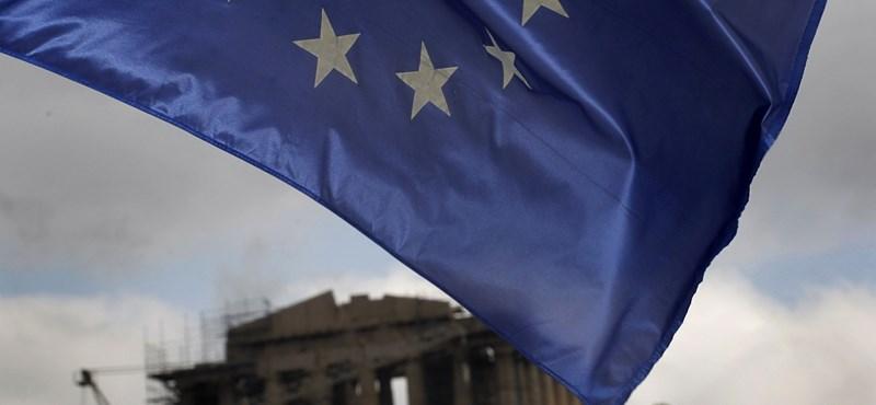Némileg javult a görög államháztartás