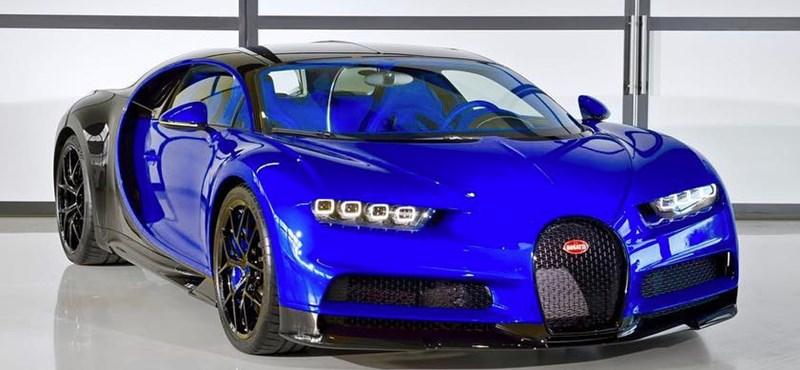 Egymilliárd forintos Bugattit vett apja hitelkártyával a kínai fiú