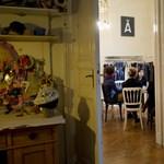 Ezt rejti a kivilágított, Baross utcai lakás - fotók
