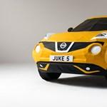 Elsőre ez egy átlagos Nissan Juke-nak tűnik. Aztán leesik az ember álla
