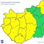 Figyelmeztetés: ma is erős szél tépheti az országot