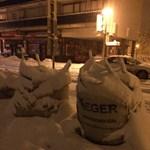 Egerben készültek: mintha ott se lenne az a 20 centis hó