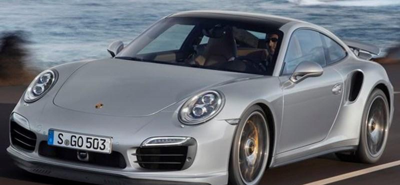 Csak automata váltóval érkezik az új Porsche 911 Turbo - fotók