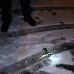 Lövöldözni kezdett a debreceni közértrabló – fotó