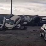 Több száz Maserati is elégett egy hatalmas kikötői tűzben – videó