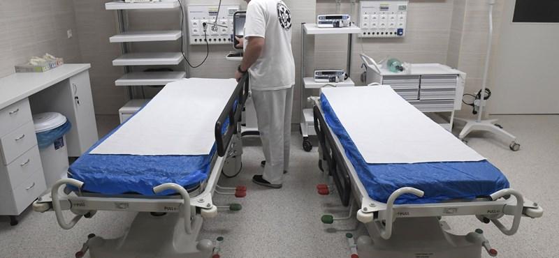 Hetekig üresen állt több kórterem is egy fővárosi kórházban az orvoshiány miatt