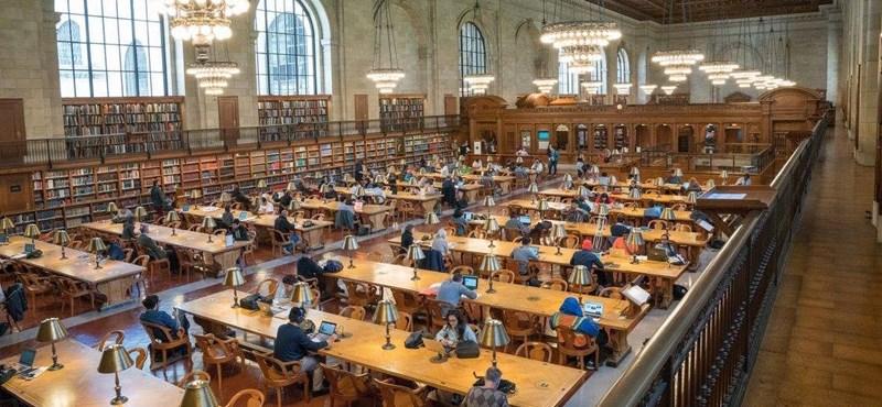 Az egyetemisták mikor fognak így tanulni? Ebben a könyvtárban az olvasójeggyel 30 000 filmet lehet streamelni