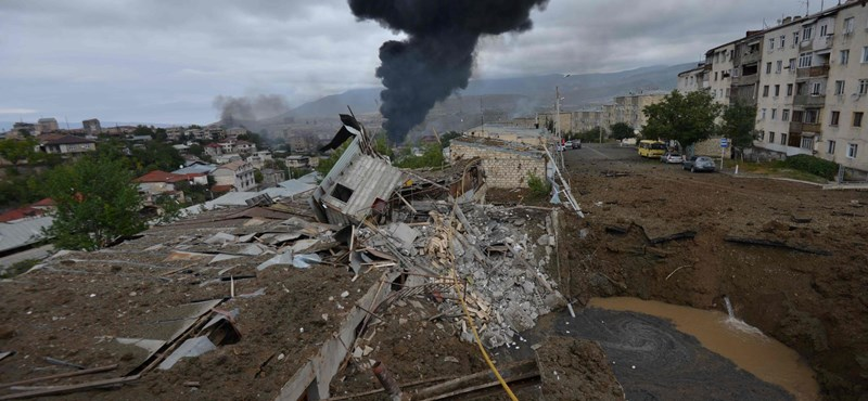Hegyi-Karabah: A felek máris a tűzszünet megsértésével vádolják egymást