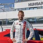 Jenson Button visszatért a Hungaroringre, és rekord köridőt futott