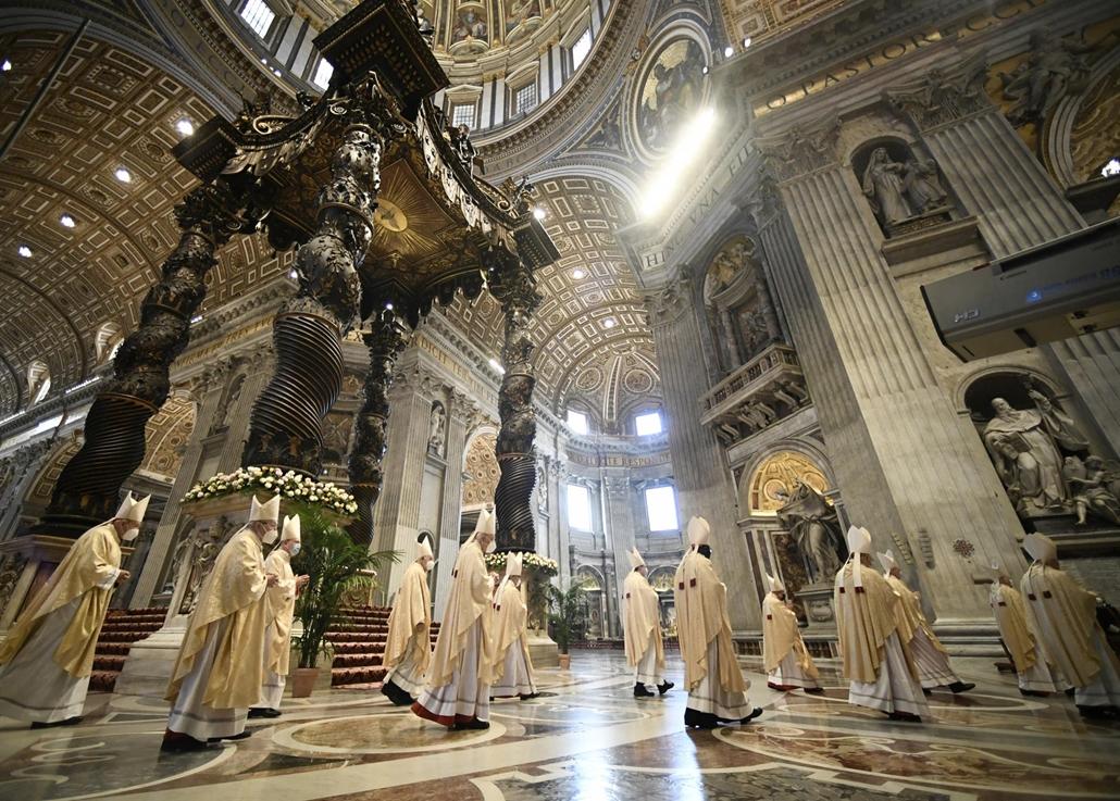 afp.21.04.04. vatikán, misére készülnek, húsvét