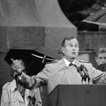 30 éve történt: idősebb Bush történelmet írt budapesti látogatásával