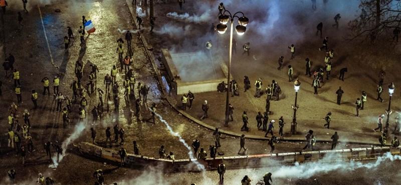 Az orosz trollok a francia tüntetések körül is kavarnak