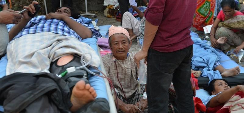 Igen ritka felvétel került ki a nepáli földrengés hatalmas erejéről