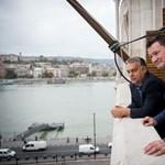 Kemény menet: Erdei Zsolt Orbán Viktor teraszán figyelt