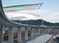Az áldozatok nevének felolvasásával kezdődött Genovában az új híd avatása
