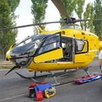 Mentőhelikopterrel vittek egy el gyereket a balatonfüredi aquaparkból