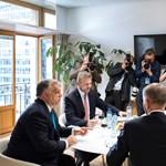 Legnagyobb ellenfelével is találkozott Orbán Brüsszelben – fotó