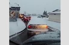 """Ilyen a közúti """"agresszió"""" kanadai módra"""