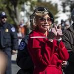Jane Fonda rendőri intézkedés közben köszönte meg a BAFTA-díját