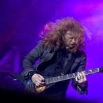 Optimistán tekint a jövőbe a Megadeth torokrákkal küzdő énekese