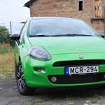Fiat Punto twinair teszt: pont jó