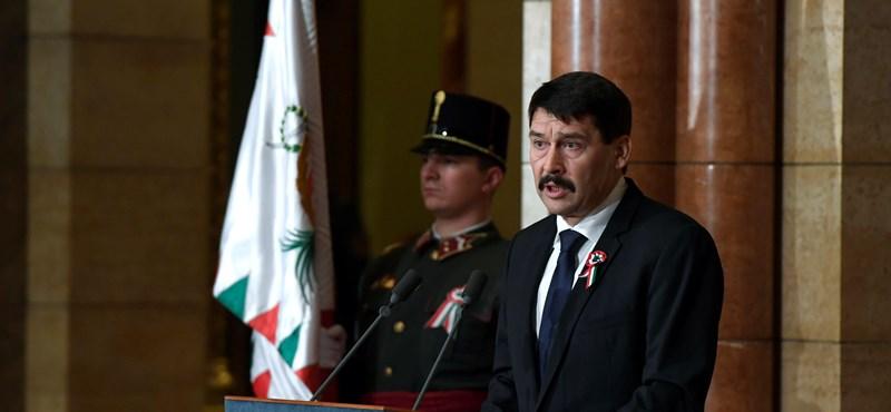 Összehívta Áder az új parlament első ülését