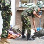 Már biztos: hét öngyilkos merénylő robbantott Srí Lankán