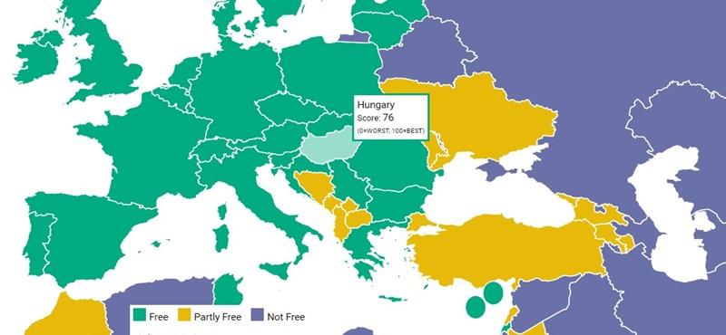 Esett a magyar szabadságindex, Orbán példáját ragadósnak tartják